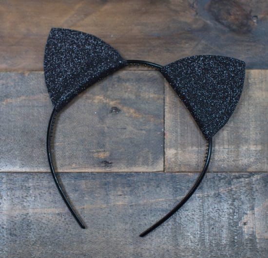 DIY Cat Ears Headband 2