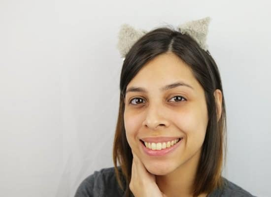 DIY Cat Ears Headband 3