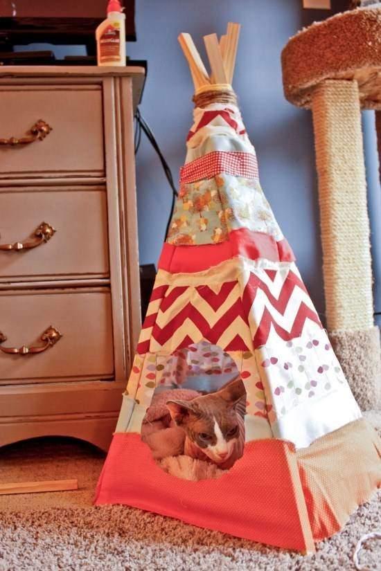 DIY Cat Tent12