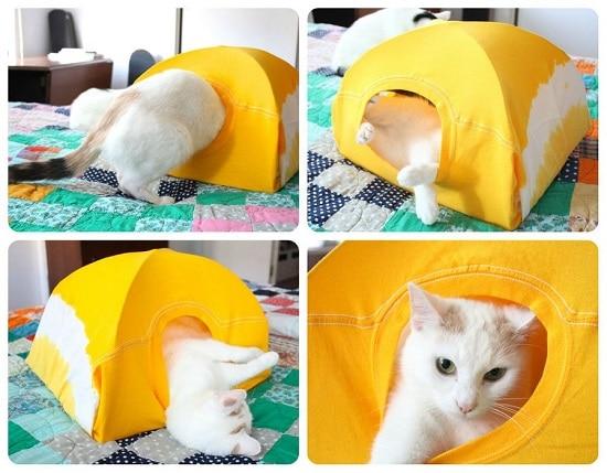 DIY Cat Tent5