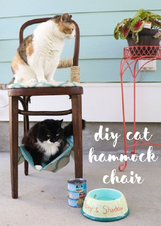 DIY Cat Chair