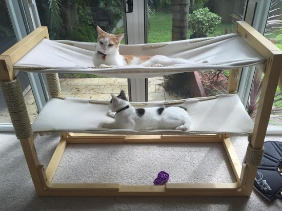DIY Cat Hammock5