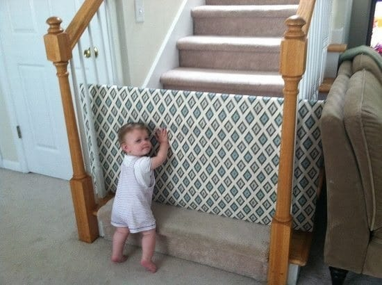Homemade Baby Gate 11