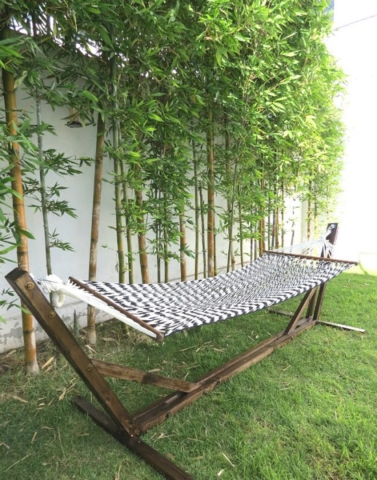 Backyard Hammock Stand from Scratch
