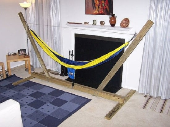 DIY Indoor Hammock Stand