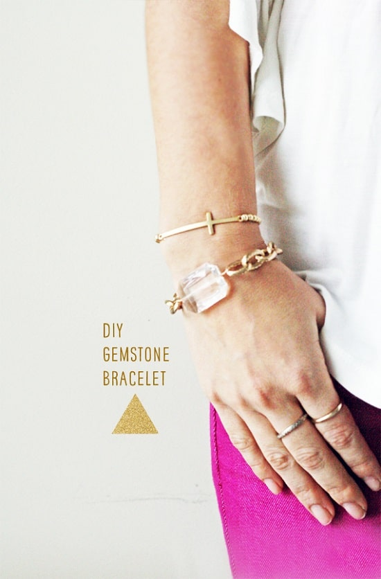 Gemstone-Inspired Chain Bracelets