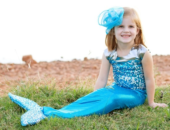 DIY Mermaid Costume10