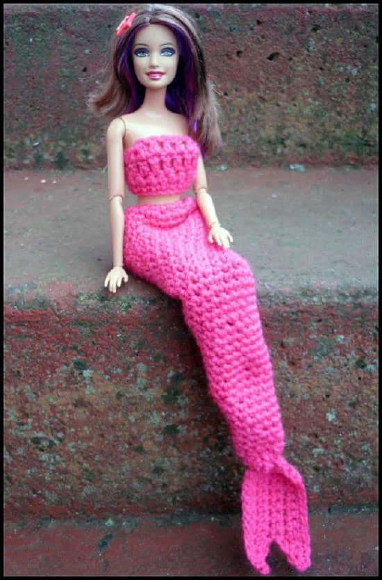 Mermaid costume for barbie1