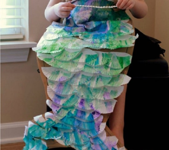 DIY Mermaid Tail Costume And Craft23