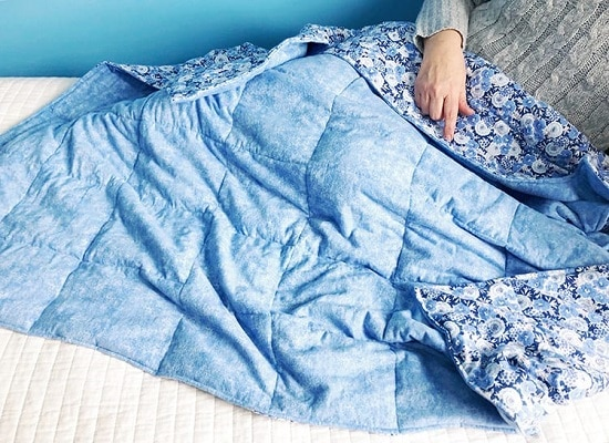 Weighted Blanket DIY 17
