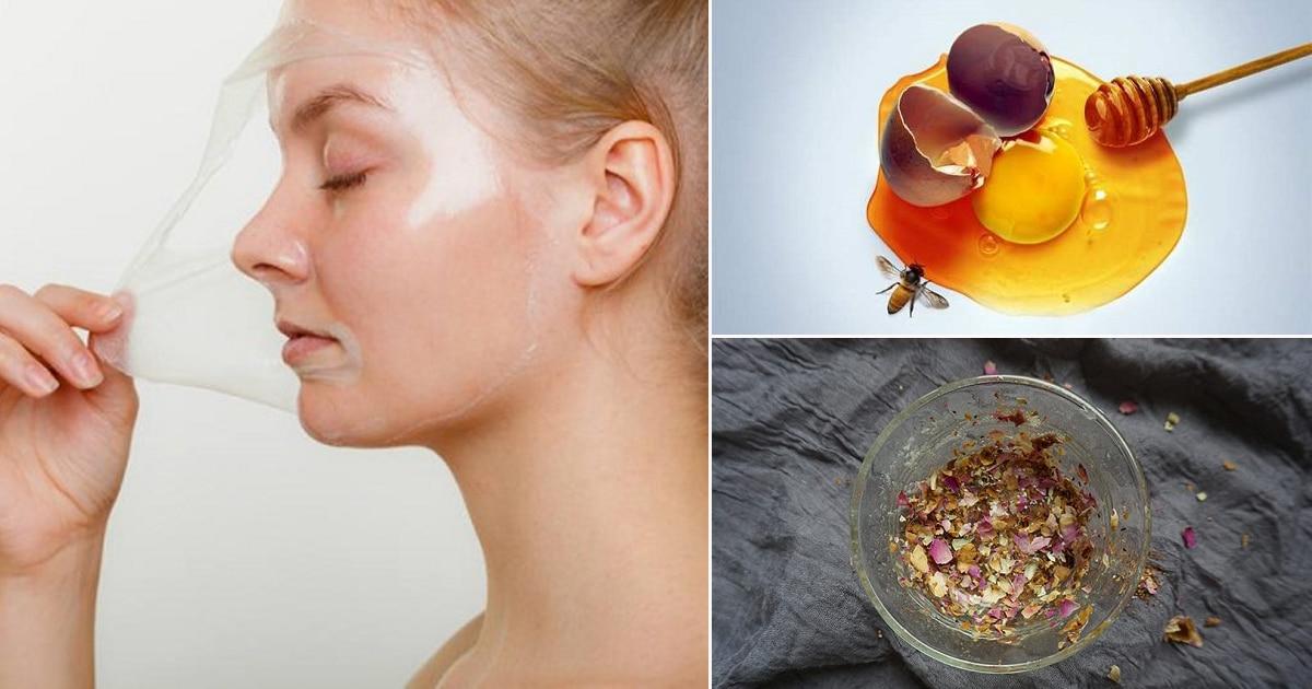 46 Homemade DIY Peel Off Face Mask Recipes ⋆ Bright Stuffs