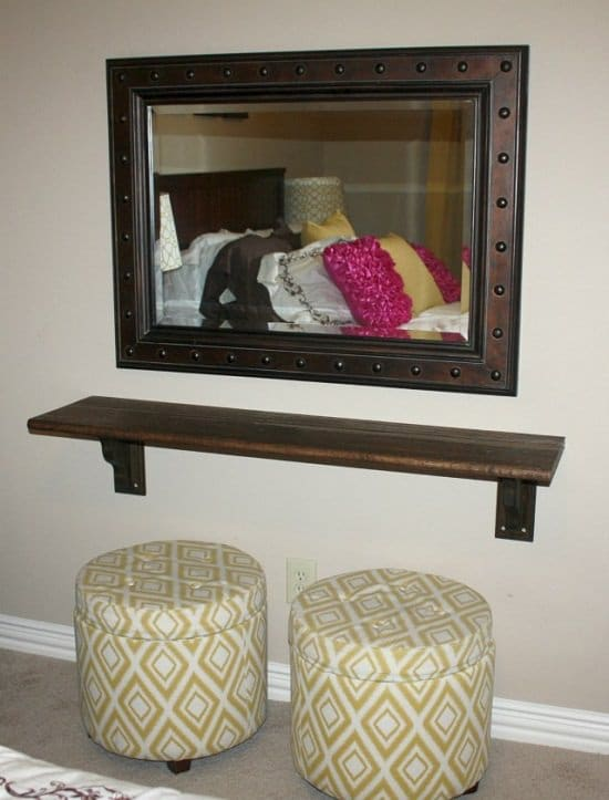 Fine 53 Diy Makeup Vanity Ideas From Repurposed Items Bright Andrewgaddart Wooden Chair Designs For Living Room Andrewgaddartcom