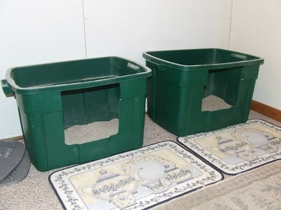 DIY Cat Litter Box1