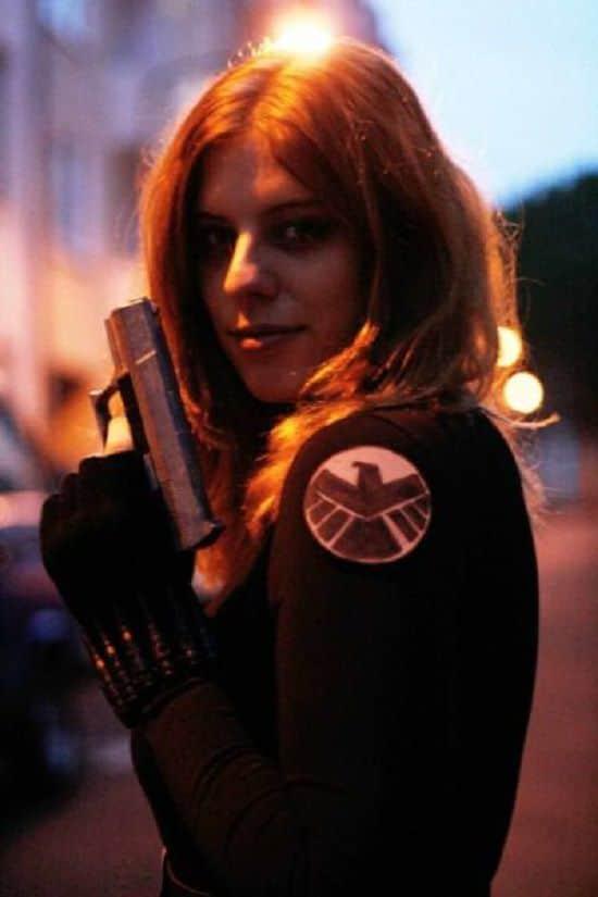 Black Widow Costume DIY2