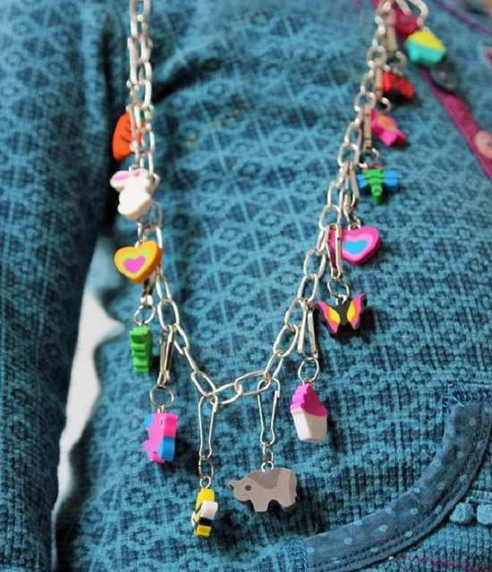 DIY Charm Necklace Ideas19