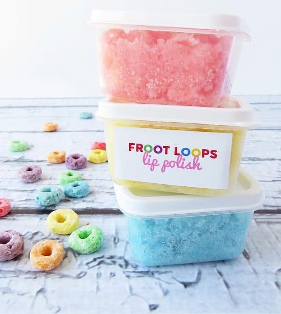 Froot Loops Lip Scrub
