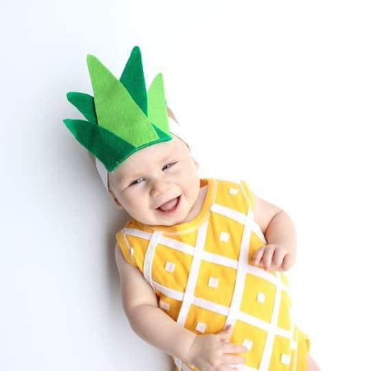 Pineapple DIY Costume15