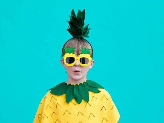 Pineapple DIY Costume16
