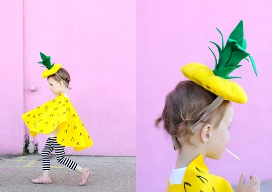 Pineapple DIY Costume4