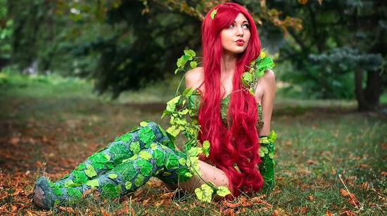 Poison Ivy Costume DIY