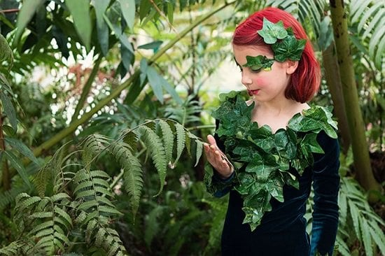 Poison Ivy Costume DIY 3