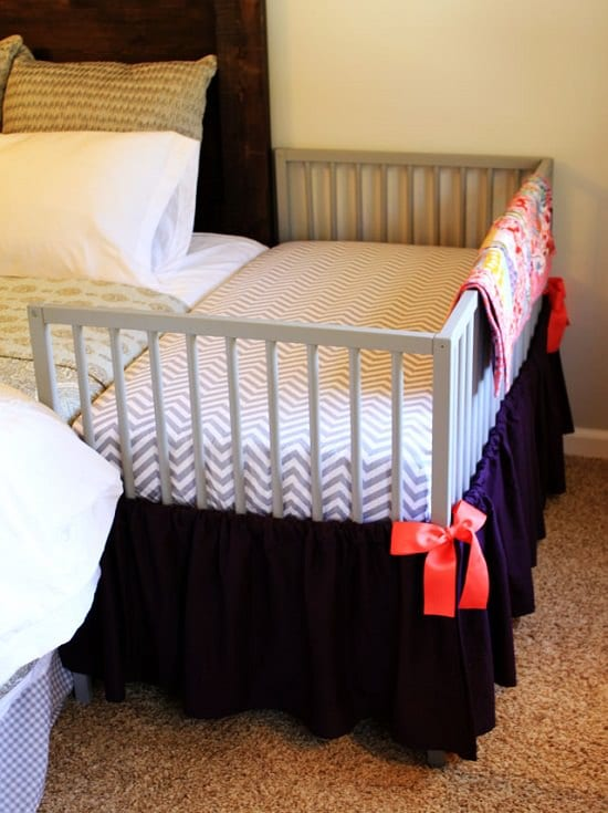 DIY Co-sleeping Crib