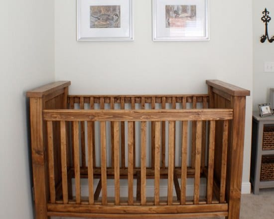 DIY Homemade Baby Bed Plan