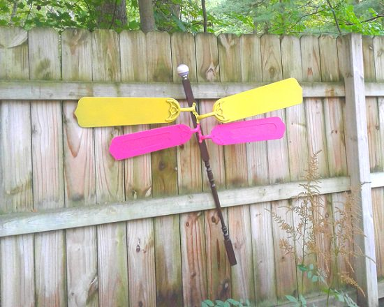 Two Color Wings Dragonfly