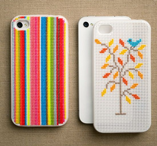 Cross-Stitch iPhone Cases