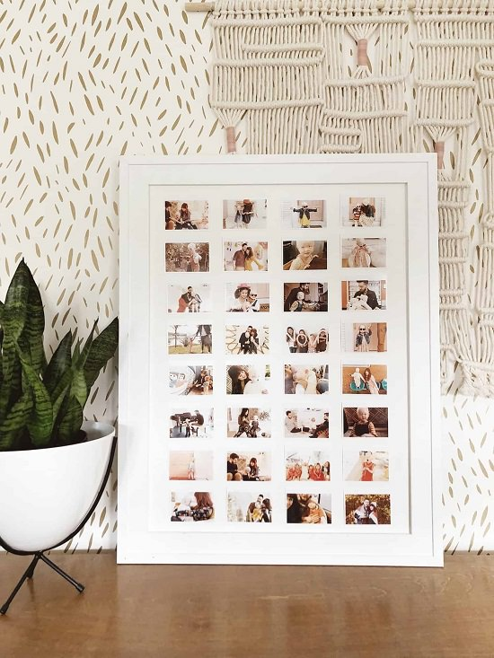 DIY Photo Wall Ideas1