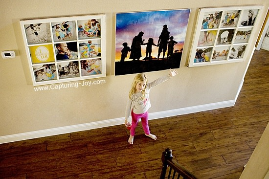 DIY Photo Wall Ideas2
