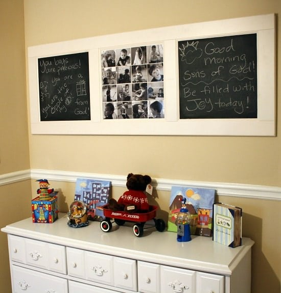 DIY Photo Wall Ideas3