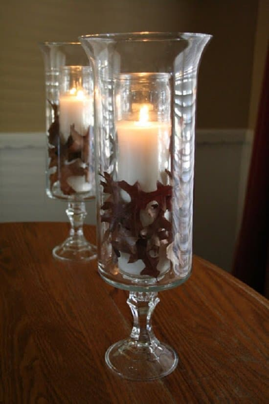 DIY Tall Candle Holders1