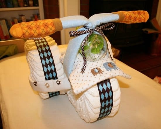 These unique DIY Tricycle Diaper Cake Ideas can be the most adorable handmade gifts. Learn how to make them here!