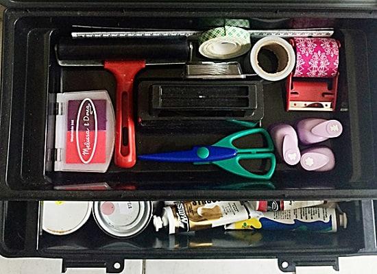 Art Supply Organizer Ideas1