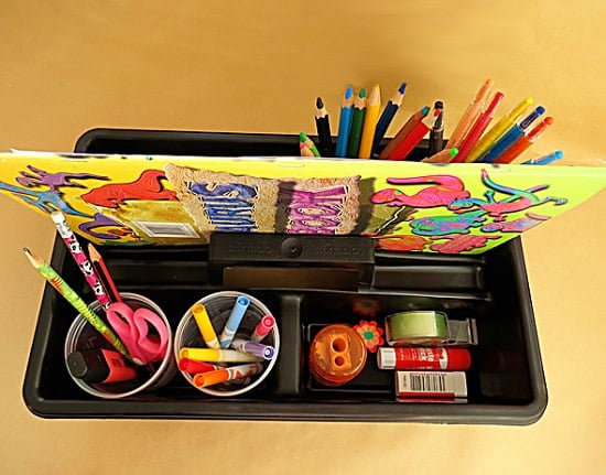 Storage Caddy for Art Items