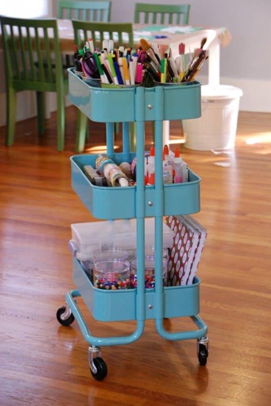 Art Supply Organizer Ideas2
