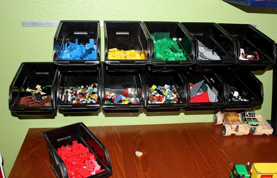 Cheap and easy lego storage