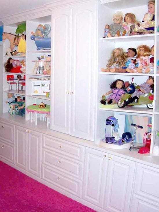 Doll Organizer Ideas 2