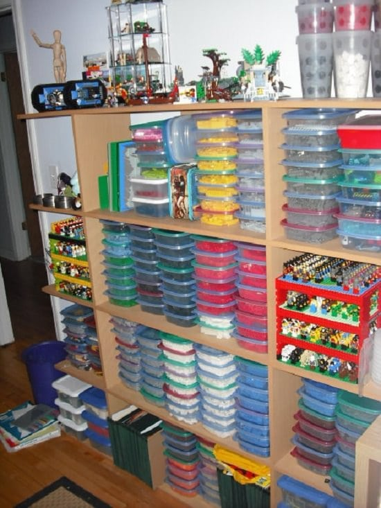 food containers lego organizers
