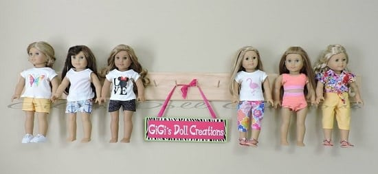Doll Organizer Ideas 1