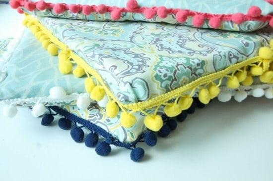 No-sew Reversible Cushions