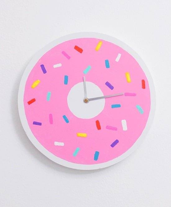 DIY Donut Clock