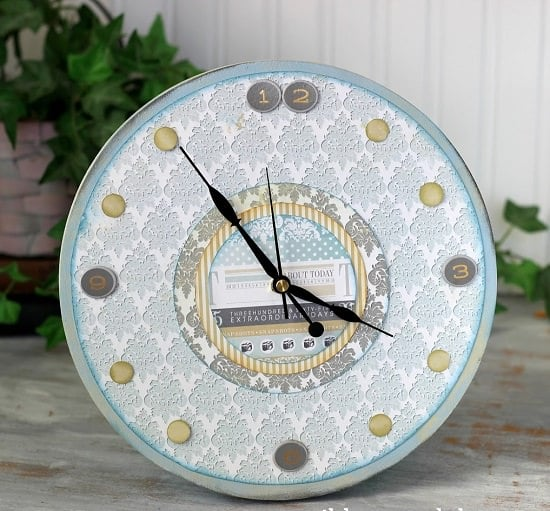 Pattern Table Accent Clock