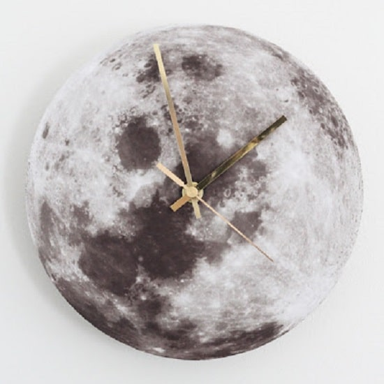 Nasa Moon Image Clock
