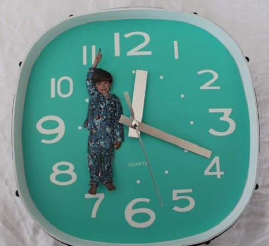 Personalized Photo Clock