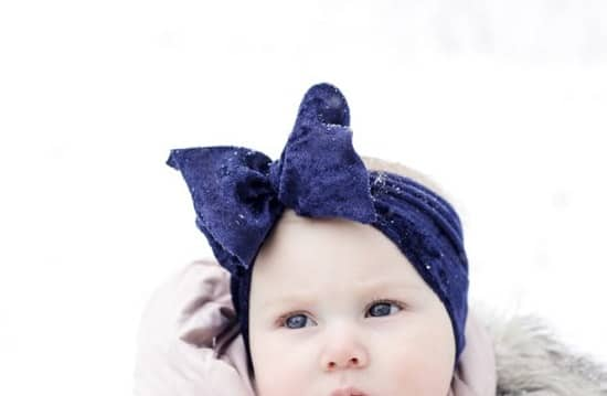 DIY No-Sew Baby Headband1
