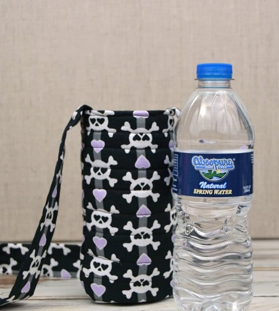 Water Bottle Sling DIY