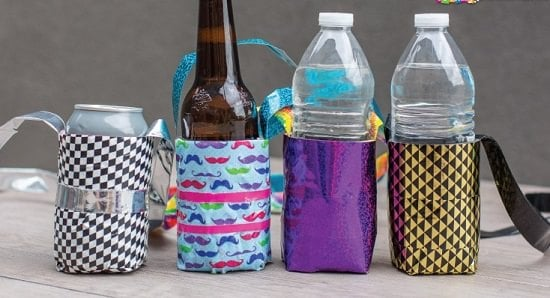 DIY Water Bottle Holders8