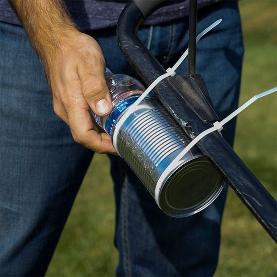 Tin Can Water Bottle Carrier